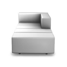Für Elemente und Kombinationen unter MLQ max verwenden wir für die Sitzflächen in erster Linie die 40 cm breiten Sitzmodule. Auch Kombinationen mit den klassischen 20 cm Modulen sind problemlos möglich.